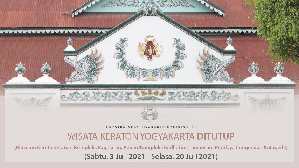 Penutupan Sementara Wisata Keraton Yogyakarta Diperpanjang